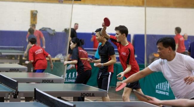 table tennis coahing group
