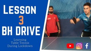【🏓Table Tennis Lesson 3 with PAUL ~ Vlog🏓 】| Learning Table Tennis During Lockdown | is now available to watch on our YouTube channel (LINK IN OUR INSTA BIO) 🔛 Nick Li Table Tennis Academy Coaching 🔛 This time we worked on Paul's #backhanddrive and we set Paul some targets to get his placement better with his back hand shots. You can also watch the video on #IGTV @albertottcoach 💪🏓 #tabletennis #tabletenniscoaching #learningduringlockdown #pingpong #tabletennisvlog #tabletennisshow #backhandtraining