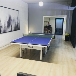 Hey everyone 🏓🏓🏓 We are excited to be back!!   We have moved into an office space in Wembley (Alperton) 2 weeks ago. We managed to fit 1 table inside the office and we will be hosting our private lessons there for the time being before we can return to our origin #tabletennisvenues .   #thenewnormal #tabletenniscoaching #officespace