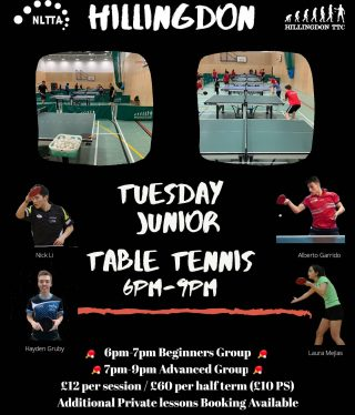 We are excited and happy to announce that our Hillingdon TTC Tuesday training sessions are back on from the 6th Oct.   Our online booking system will be available soon! Massive thank you to @virtualabode for setting it up for us.   Looking forward to seeing you all at Hillingdon, the home of #NLTTA  Assemble time!!! @albertottcoach @haydenttcoach @laura_mejias_ortega  #tabletennislondon #tabletennisprograms #tabletennistraining #tabletennisclub #homeofpingpong #coach