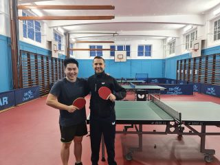 Thank you @_ebatt for inviting me to visit the amazing #tabletennisprogramme at @ackworthschool.   It was amazing to meet all the super talented and committed players and seeing how dedicated they are in achieving the best performance level that they can.   With @_ebatt experience and expertise, I'm sure the @ackworthschool performance team will be at the top in no time!!!