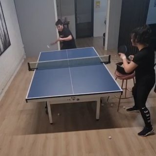 Let's start the 2021 with some #forehand #topspin !!! Happy new year to you all. 🏓🏓🏓🏓🏓   #tabletennis #tabletennistraining #happynewyear