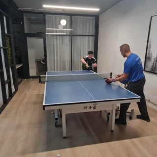 Here comes the requested video by @brianstonorwerner ~ 🏓 The Backhand Banana Flick video. And yes I have re-hired 😜 my coach and mentor since I was 14 @_ebatt to help me making this video possible.   More requested videos will be coming soon!!! Just give me time to PRACTICE for them 🤣🤣🤣🤣  #tabletenniscoach #tabletennistraining  #tabletennisshots #requestedvideo #backhandflick