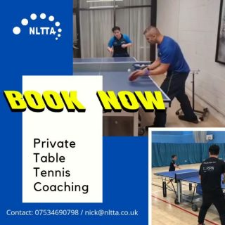 🏓🏓🏓We are ready for the 12th of April!! Where 121 private coaching is allowed to take place. ARE YOU READY???🏓🏓🏓  It's time to work on those forehand & backhands once again. Oh don't you miss those heavy backspin pushes, and those spinny serves too!!!  Limited bookings are now available. Get in touch today for more info.   • At our private training venue • Home visit  • Bespoke venues  Mobile: 07534690798 Email: nick@nltta.co.uk  #tabletennis #tabletenniscoaching #tabletennislondon #london #pingpong #coaching #topspin #backspin #sidespin #tt