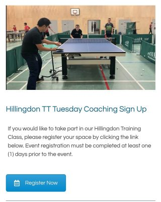 🙏🙏🙏Massive thank you to @virtualabode for creating our tailored brand new booking system. We are excited to hear feedbacks from you all when you book. And we are now accepting PayPal, debit and credit card.   🏓🏓🏓Book your space for our Tuesday Hillingdon Training Session now!🏓🏓🏓  Visit our website for more info   www.nltta.co.uk/hillingdon