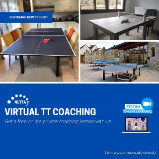 🏓 ⚠️Online Table Tennis Coaching 🏓 We have been working with some of our 🏓 students virtually to continue their training routine together for the past weeks. We would like to invite you to participate in our new #onlinetabletenniscoaching project. 💻COACHING VIRTUALLY💻 is something new to us. However, we would love to use this opportunity to keep expanding our coaching methods and experience. We are accepting FREE 🆓TRIAL bookings from now till 🗓19th June 2020. Visit our website www.nltta.co.uk/virtual/ to book your FIRST FREE private online lesson with us!🏓💻🏓💻⚠️